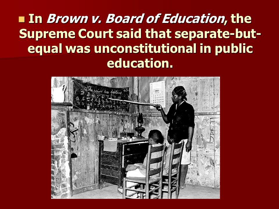 In Brown v.