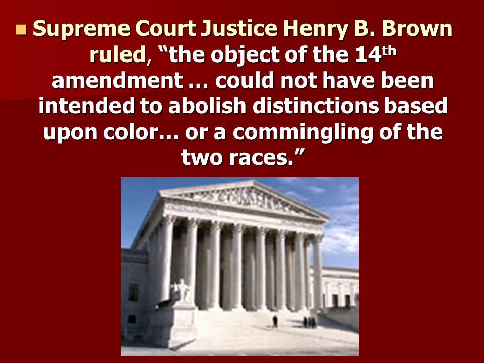 Supreme Court Justice Henry B