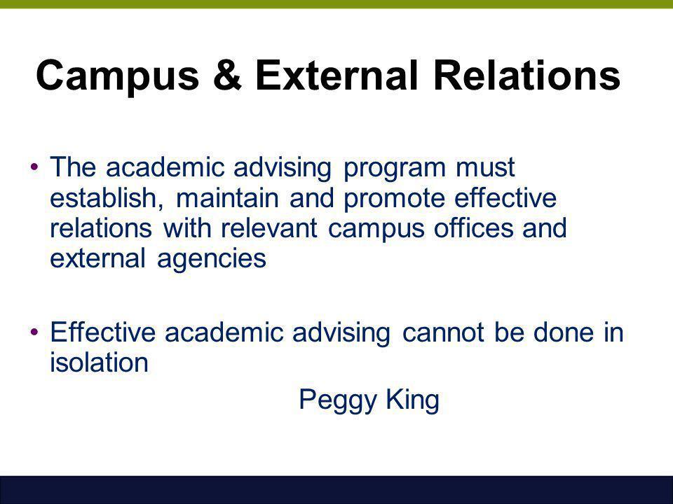 Campus & External Relations