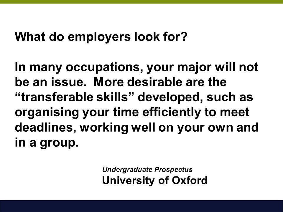 Undergraduate Prospectus University of Oxford