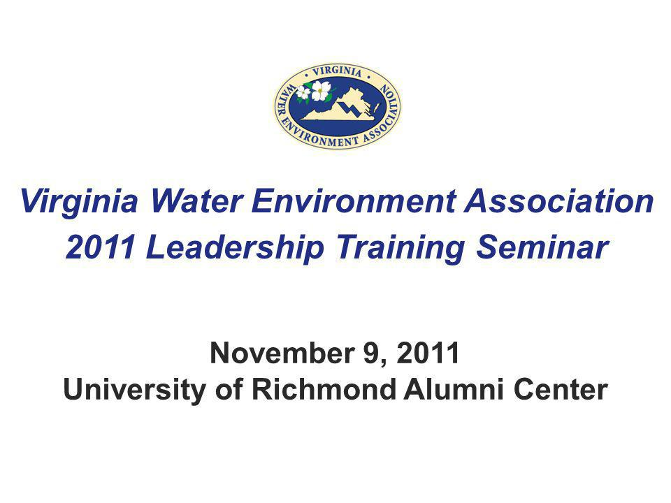 November 9, 2011 University of Richmond Alumni Center