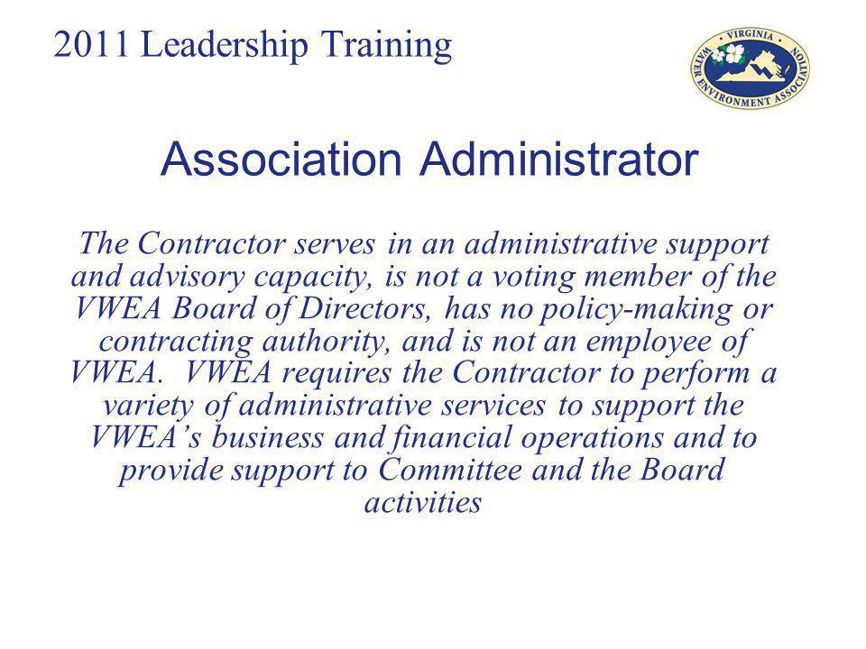 Association Administrator