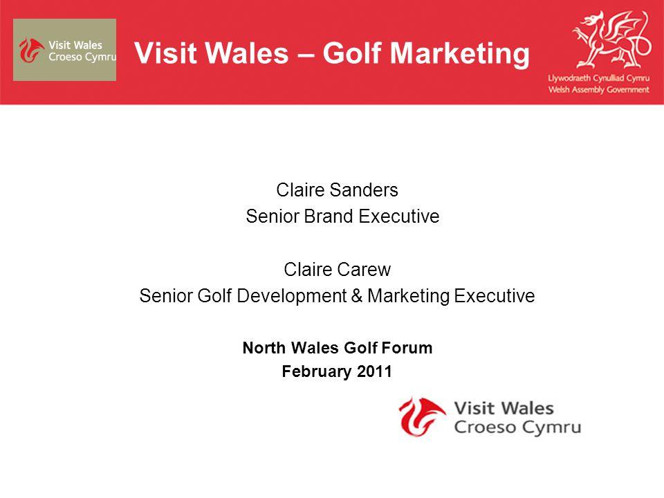 Visit Wales – Golf Marketing