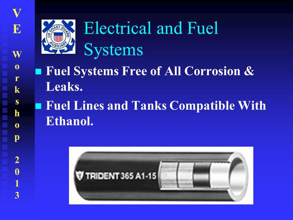 Electrical and Fuel Systems