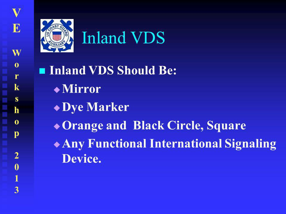 Inland VDS Inland VDS Should Be: Mirror Dye Marker