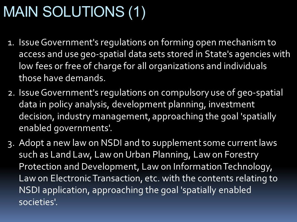 MAIN SOLUTIONS (1)