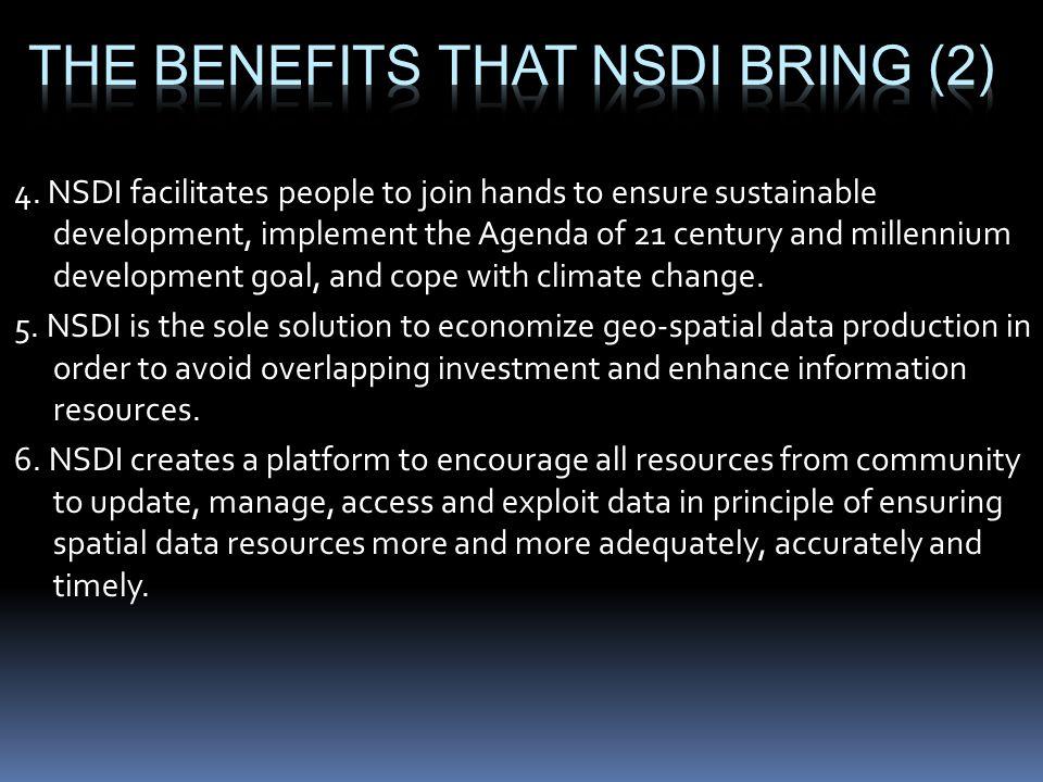 The benefits that NSDI bring (2)