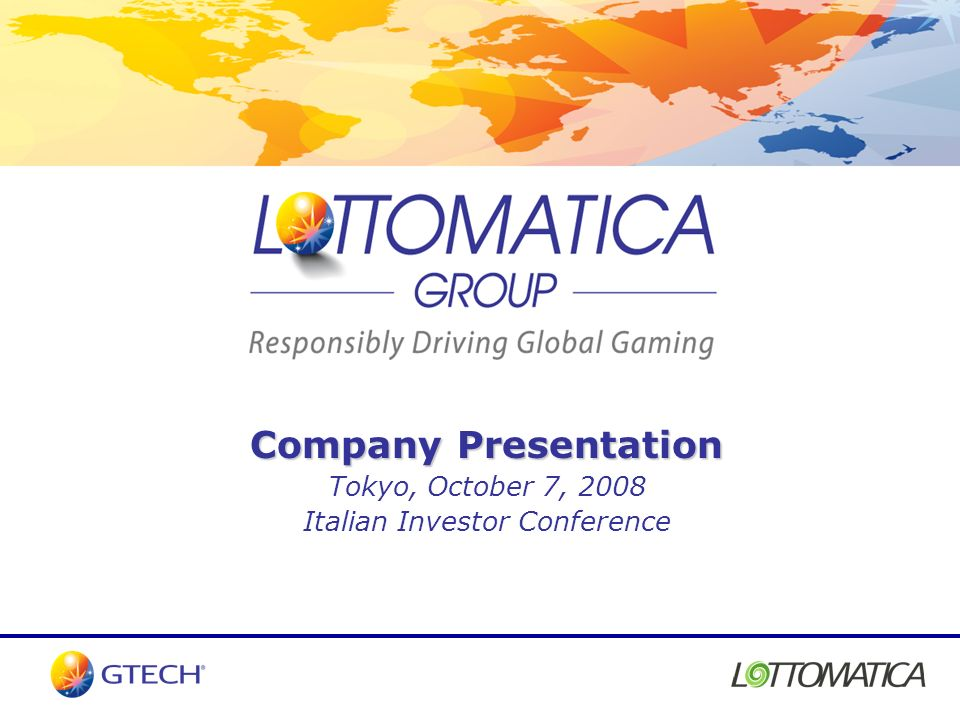 Italian Investor Conference