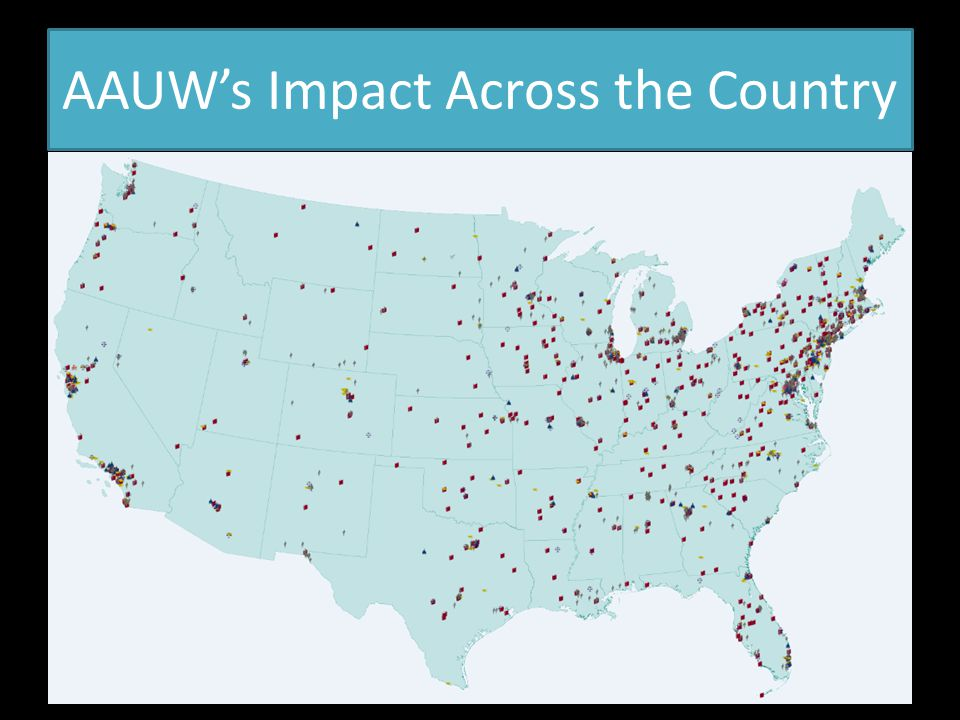 AAUW's Impact Across the Country
