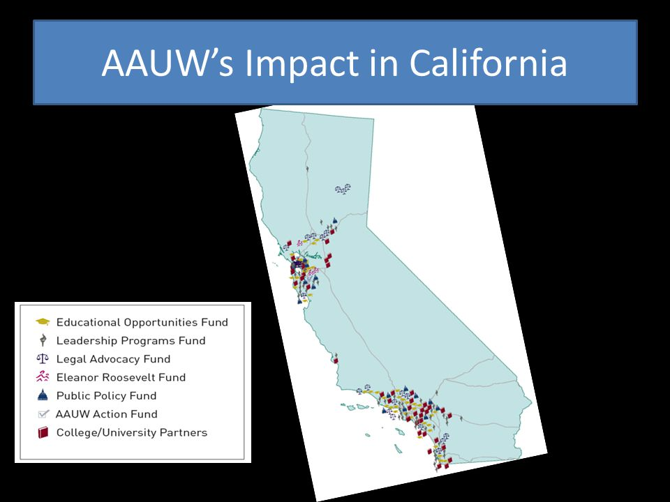 AAUW's Impact in California