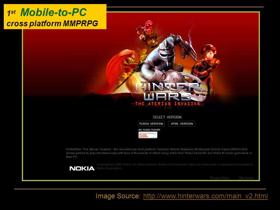1st Mobile-to-PC cross platform MMPRPG