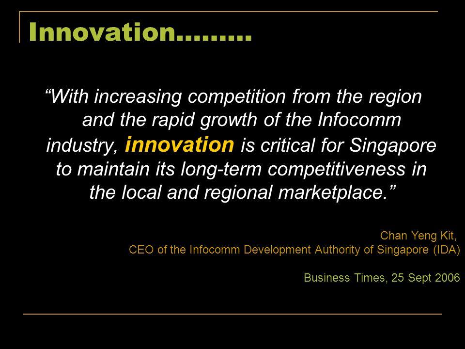Innovation………