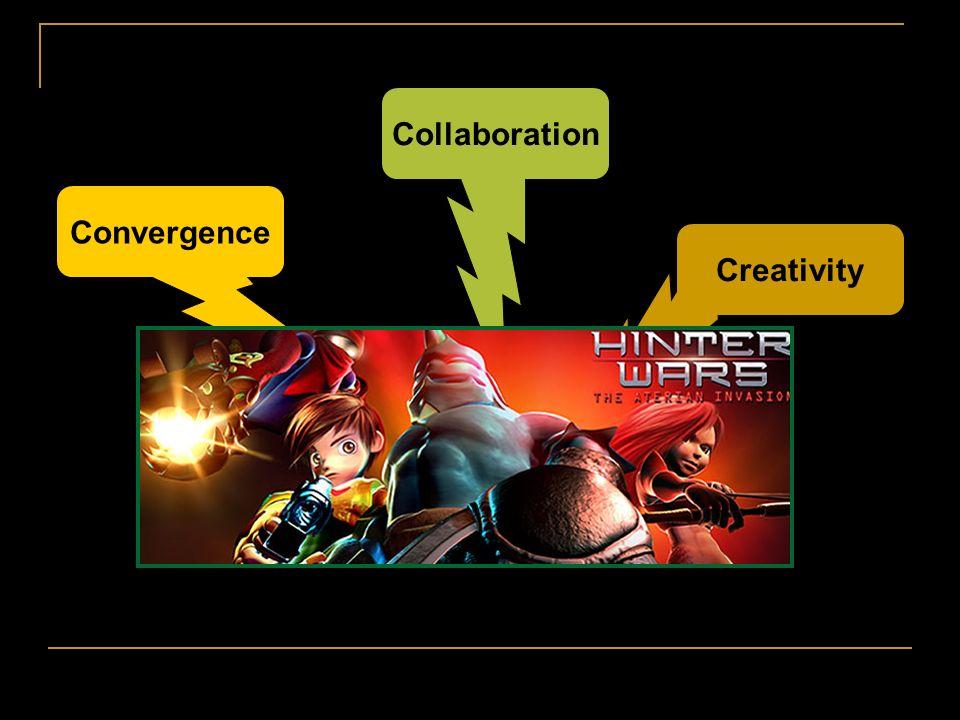 Collaboration Convergence Creativity