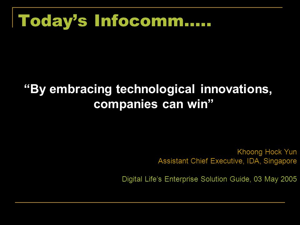 By embracing technological innovations, companies can win