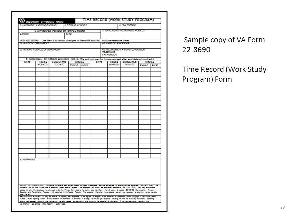 What happens after VA receives the application and Job Description