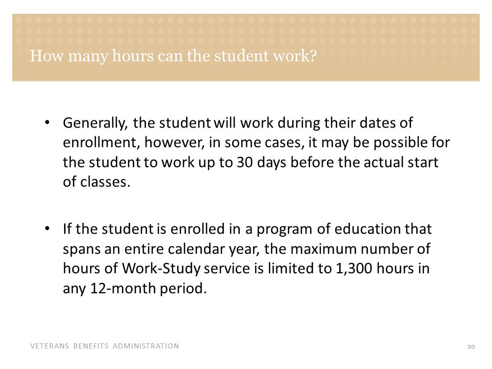How are Work-Study payments made