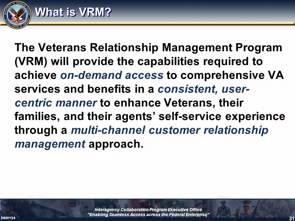 What is VRM