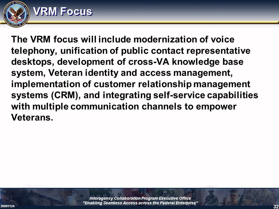 VRM Focus