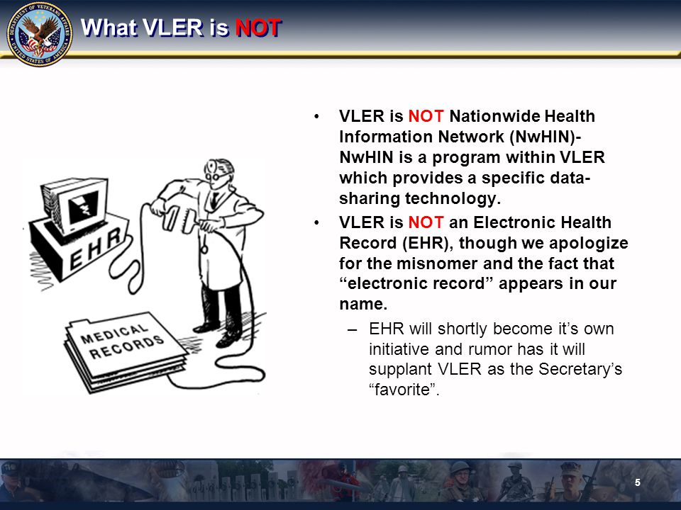 What VLER is NOT