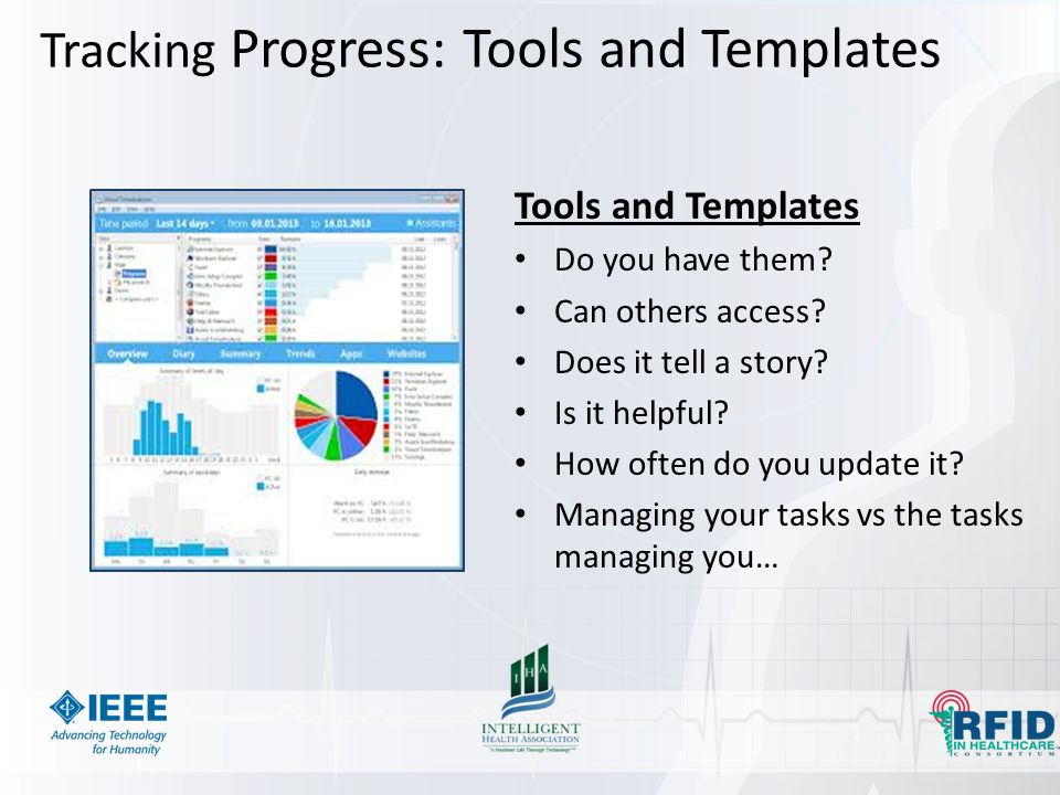 Tracking Progress: Tools and Templates