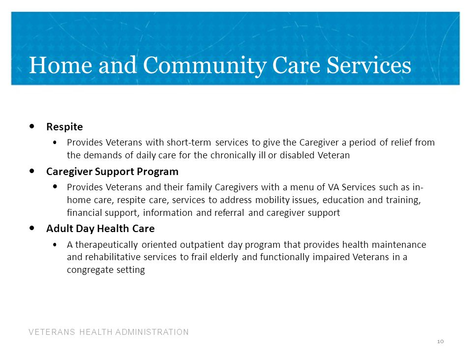 Home and Community Care Services