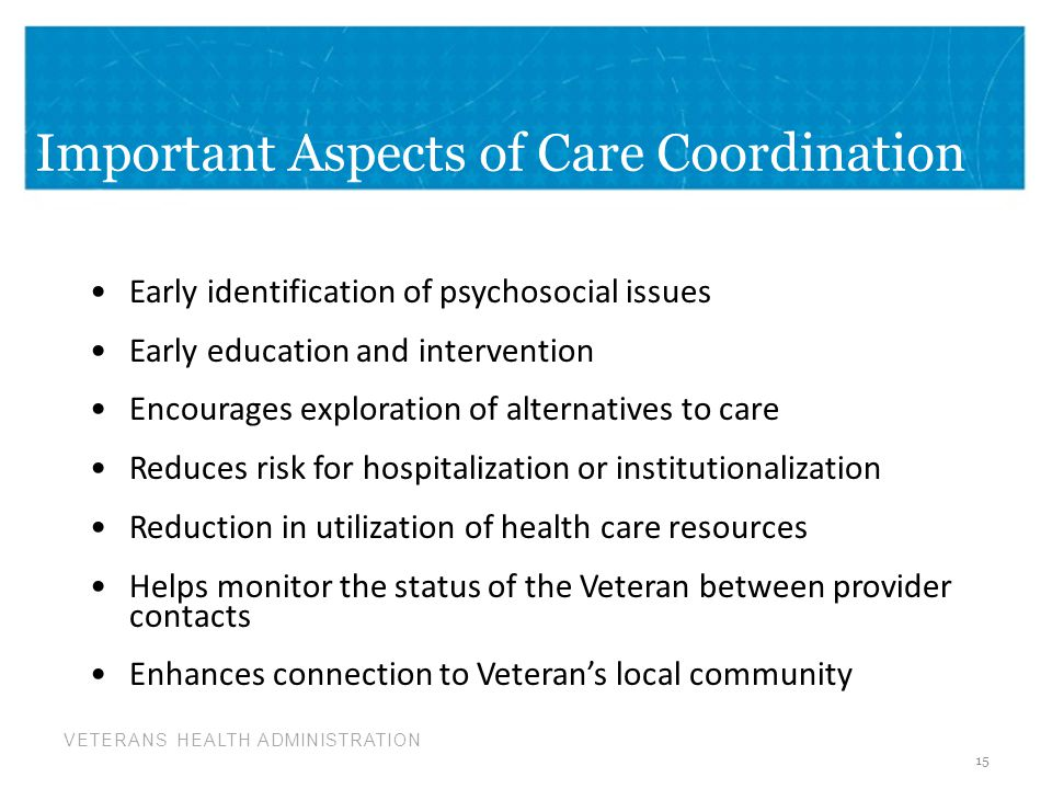 Important Aspects of Care Coordination