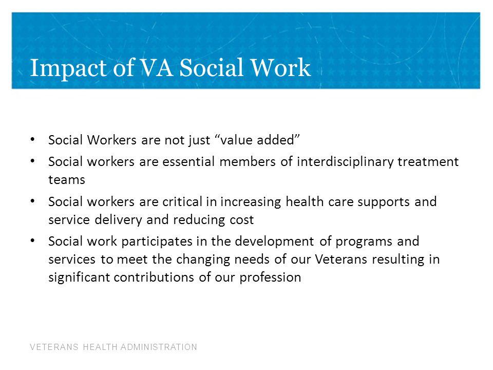 Impact of VA Social Work