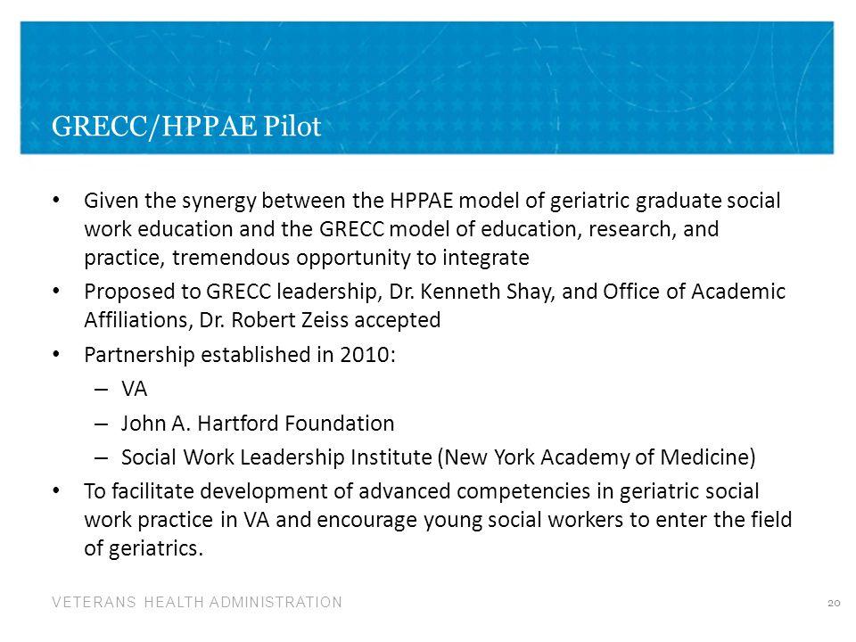 GRECC/HPPAE Pilot