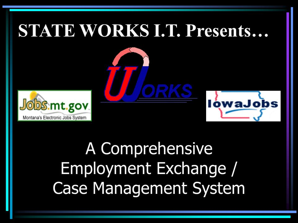 A Comprehensive Employment Exchange / Case Management System