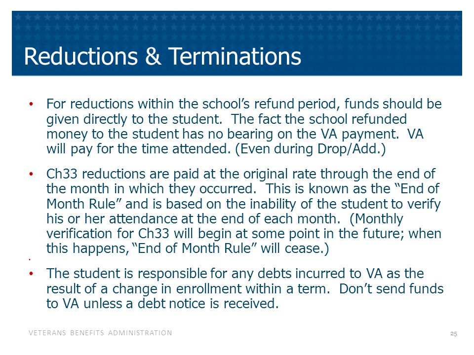 VA Education Benefits Debt Concerns