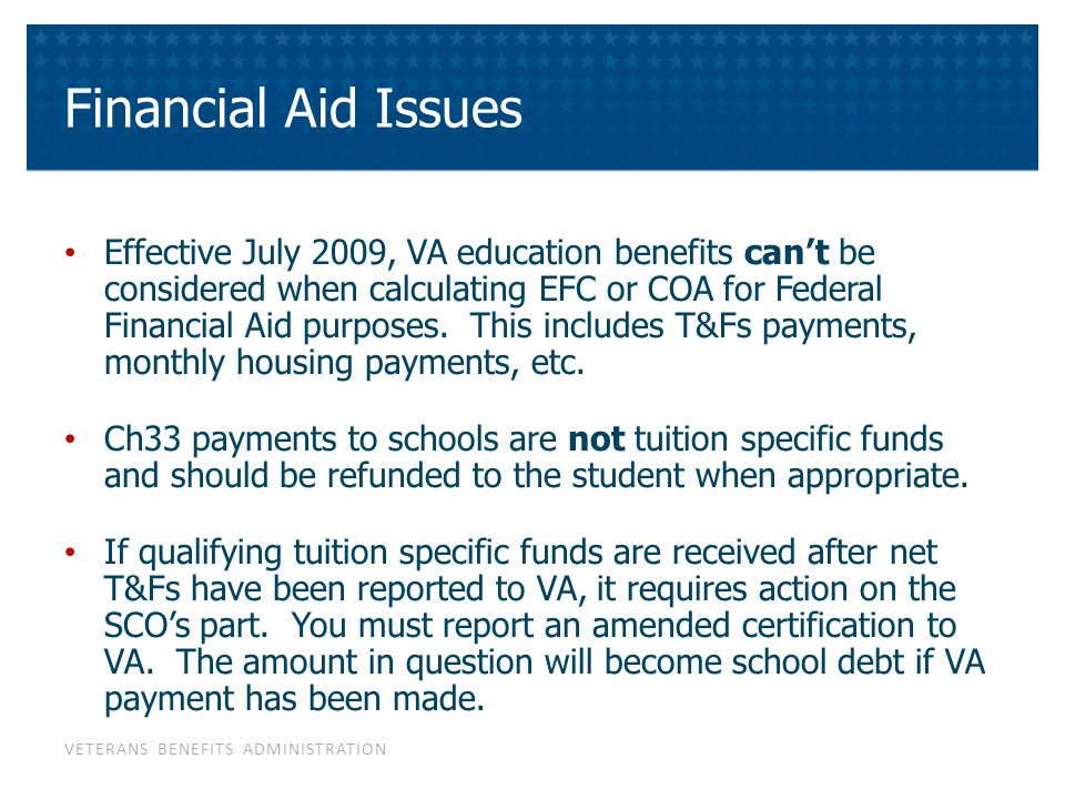 Are VA Education Benefits Taxable