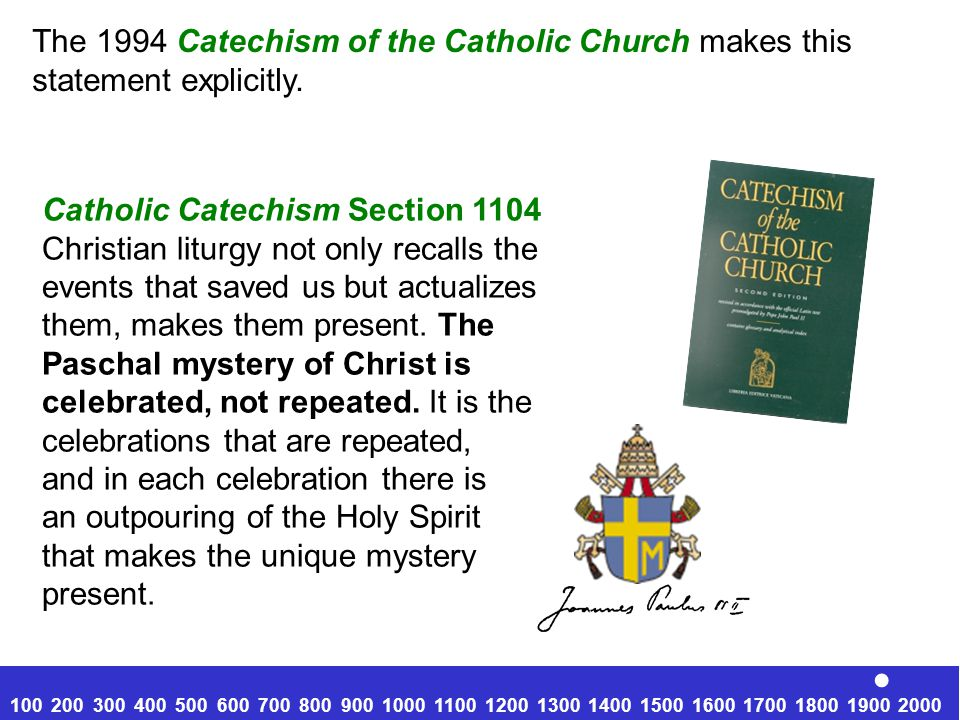 . The 1994 Catechism of the Catholic Church makes this