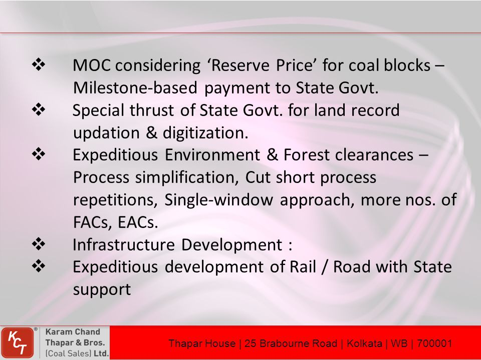 MOC considering 'Reserve Price' for coal blocks –