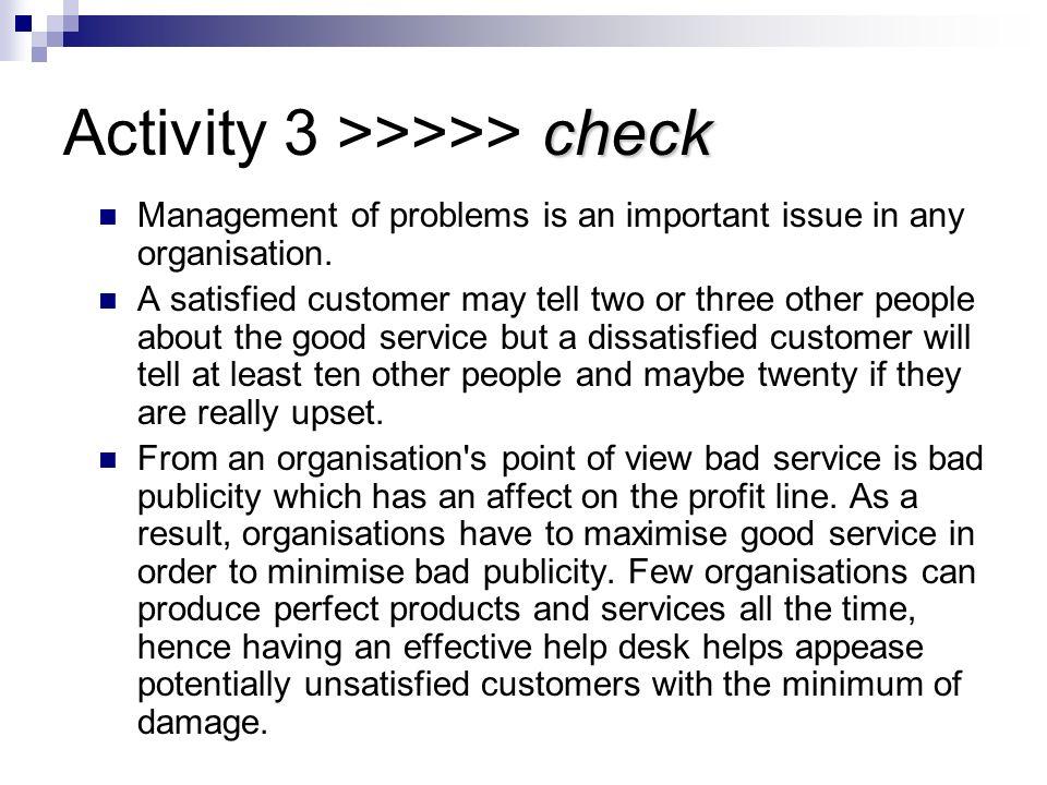 Activity 3 >>>>> check