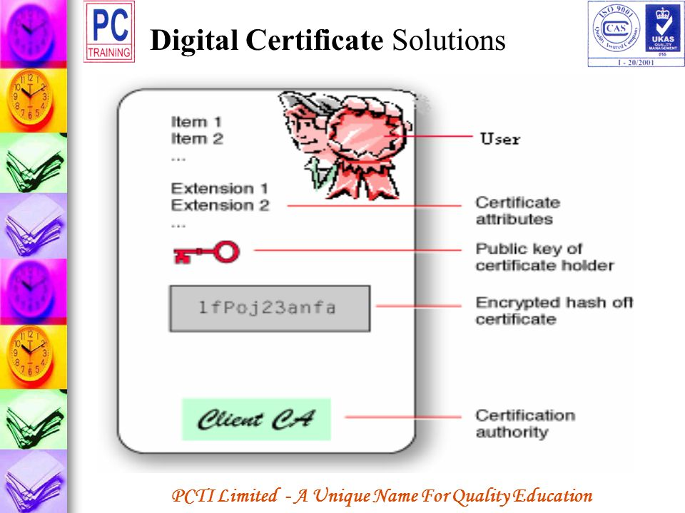 Digital Certificate Solutions