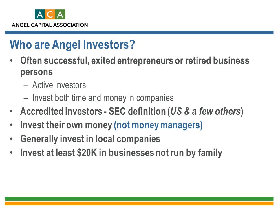Who are Angel Investors
