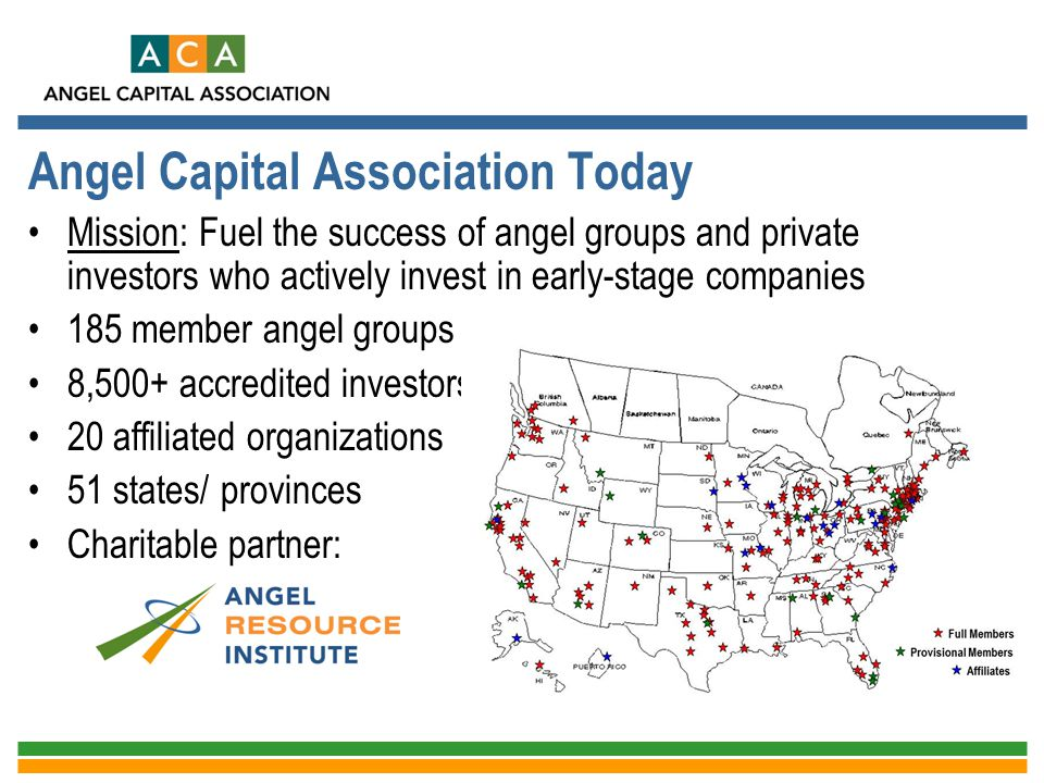 Angel Capital Association Today