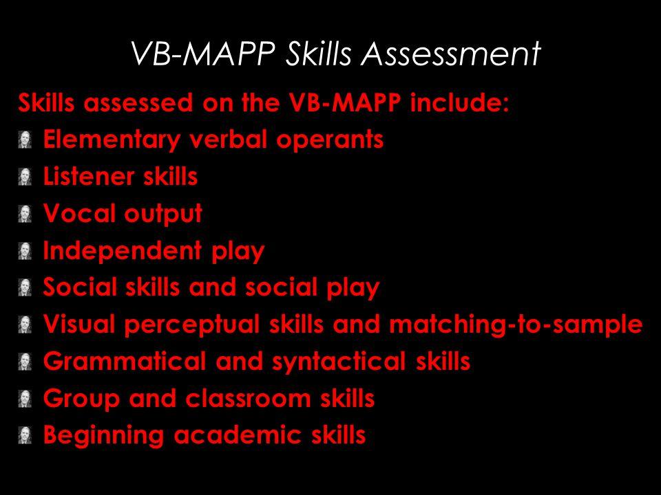 VB-MAPP Skills Assessment