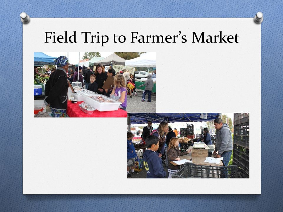 Field Trip to Farmer's Market