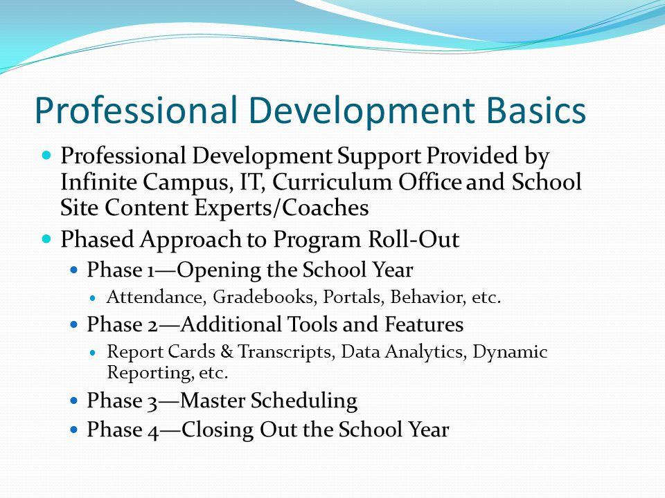 Professional Development Basics