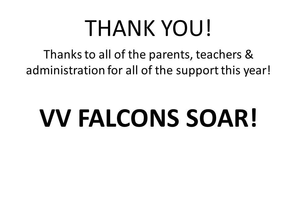 VV FALCONS SOAR! THANK YOU!