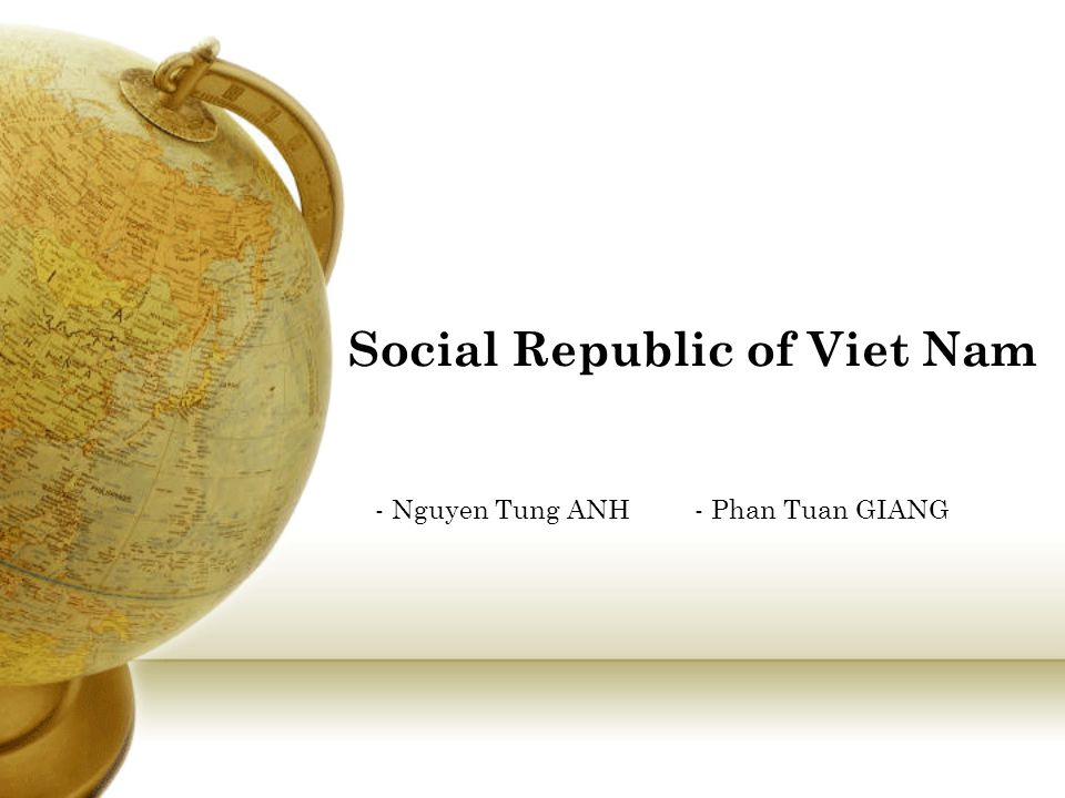 Social Republic of Viet Nam
