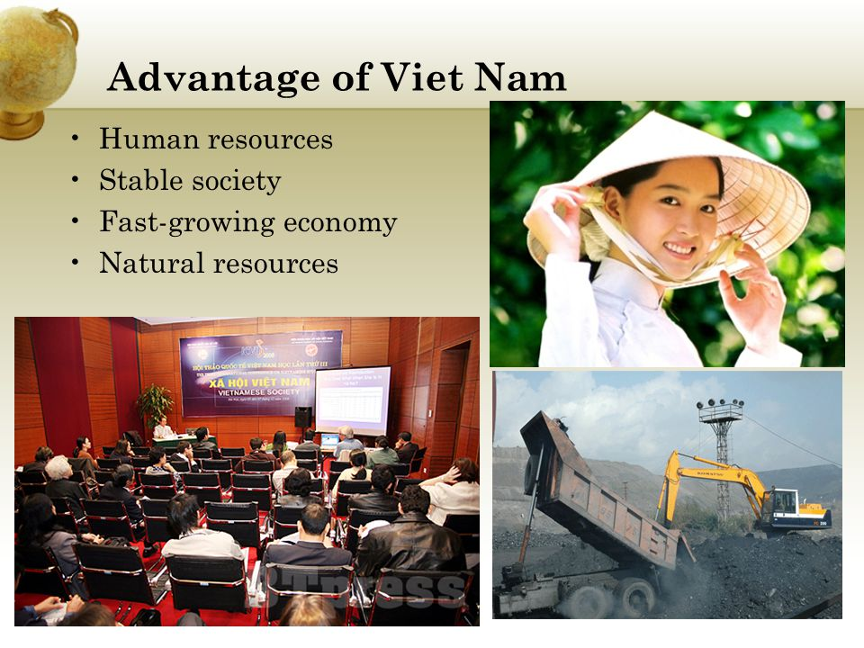 Advantage of Viet Nam Human resources Stable society