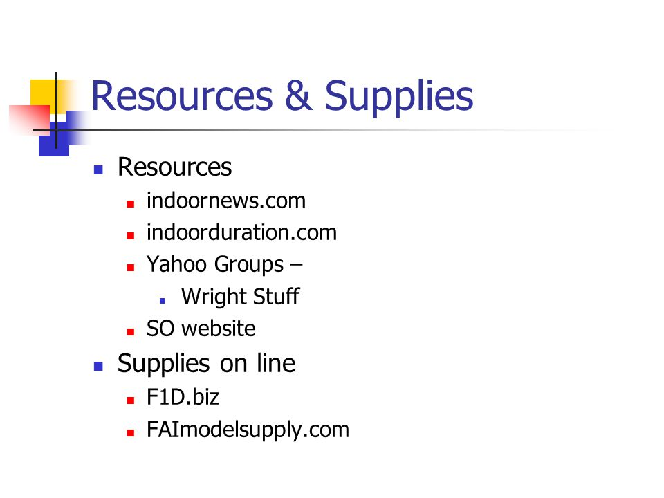 Resources & Supplies Resources Supplies on line indoornews.com