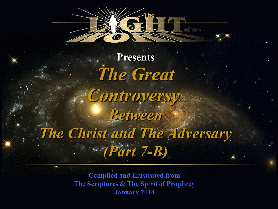 The Christ and The Adversary