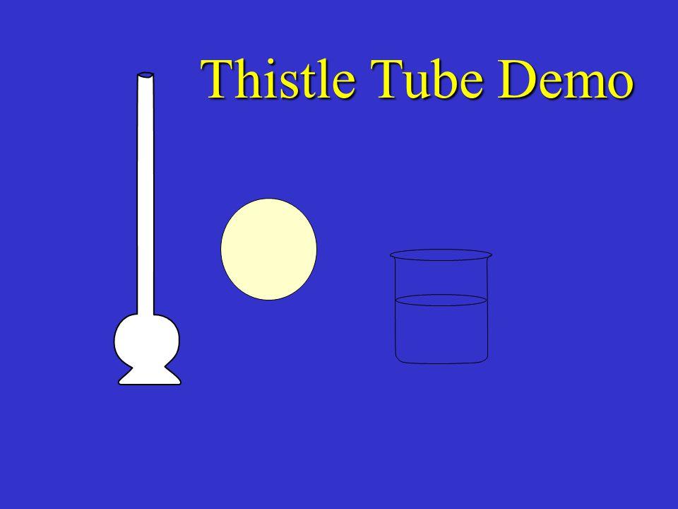 Thistle Tube Demo