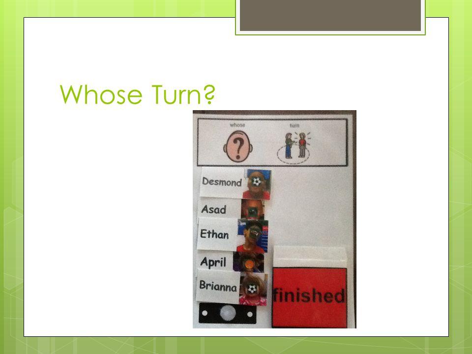 Whose Turn