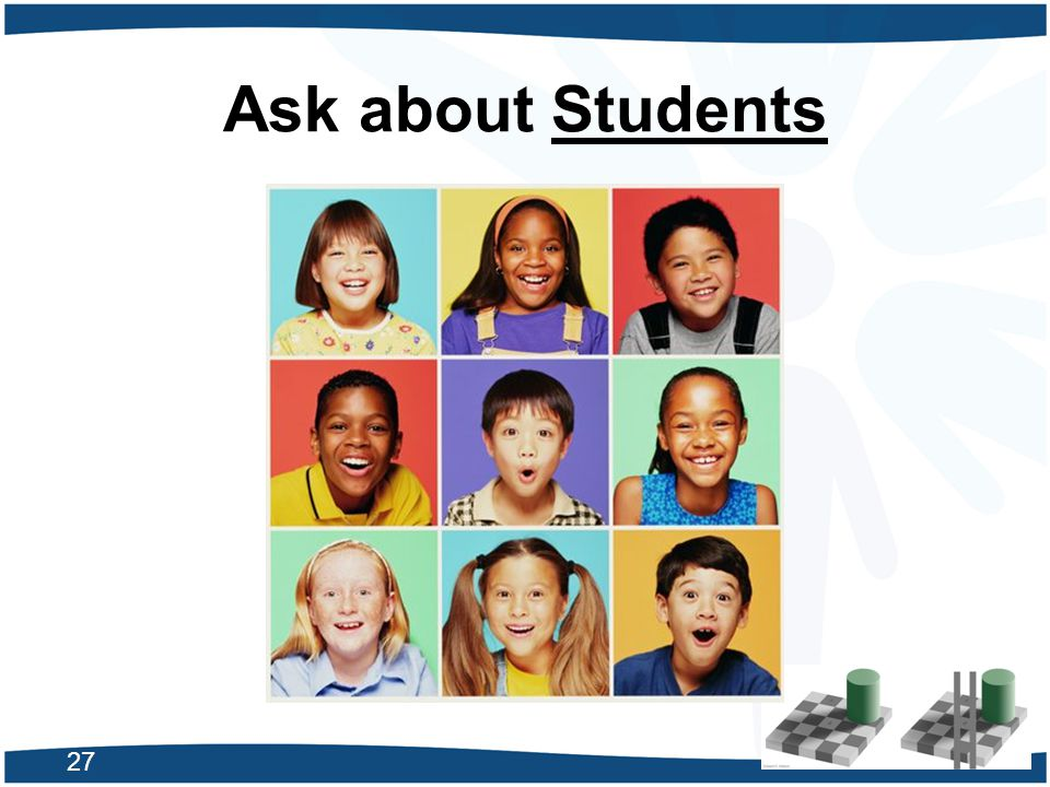 Ask about Students