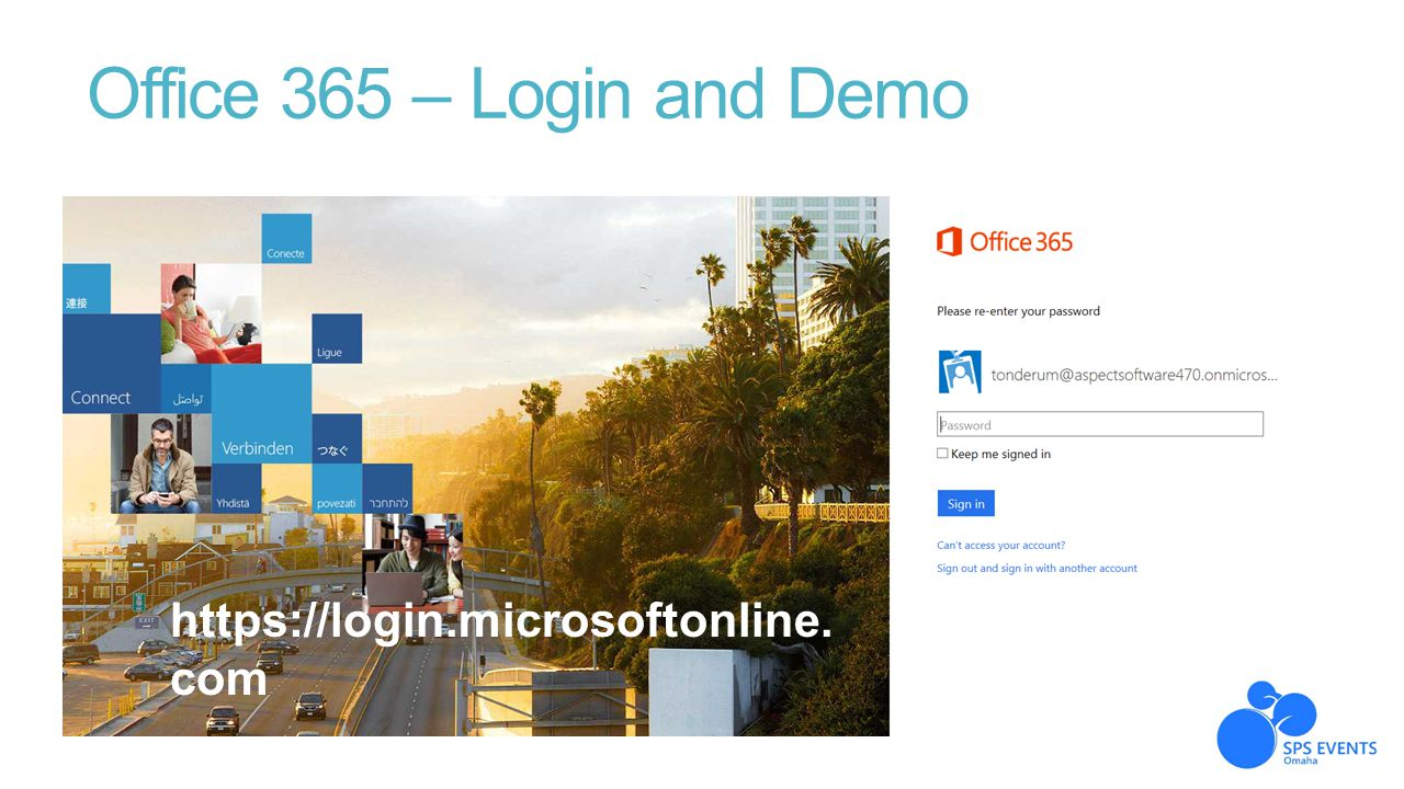 Office 365 – Login and Demo https://login.microsoftonline.com