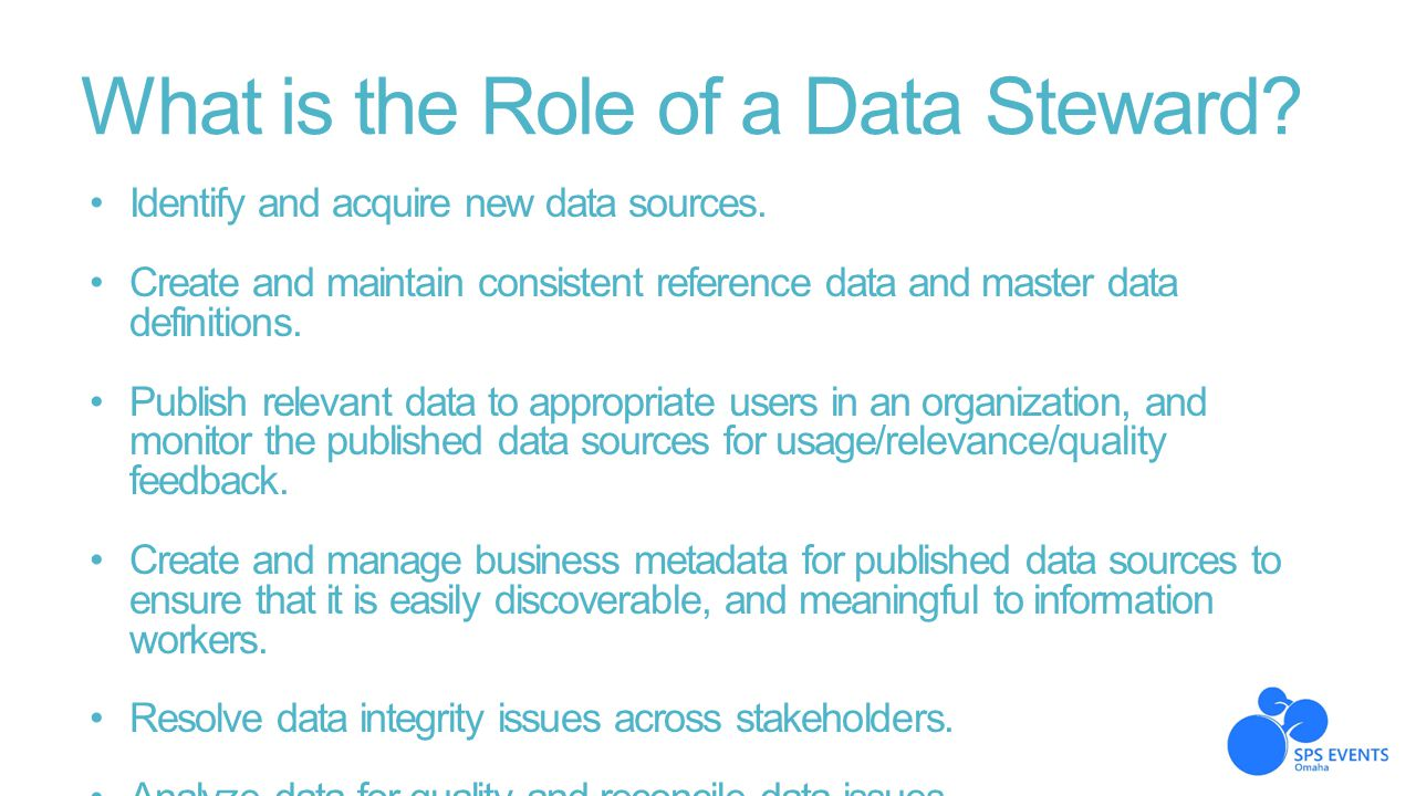 What is the Role of a Data Steward